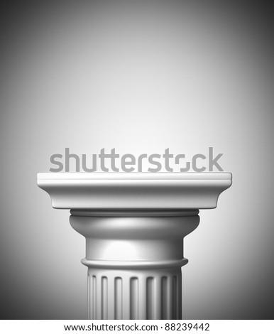Column Pedestal - stock photo
