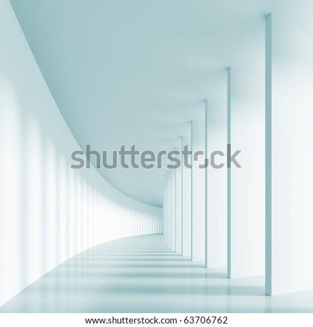 Columns Hall - stock photo