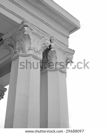 Columns isolated