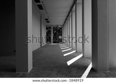 Columns, Philadelphia, PA - stock photo