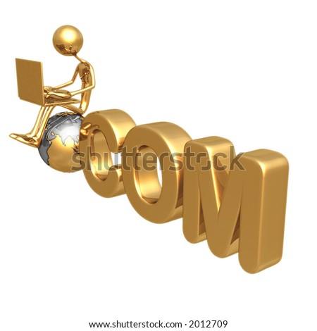 COM - stock photo