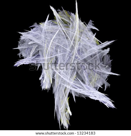 Comet Abstract - stock photo