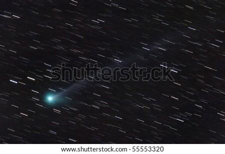 Comet McNaught 2010 - stock photo