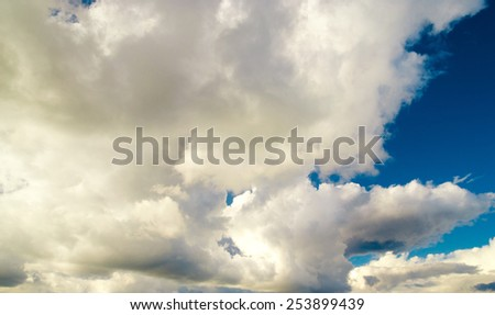Coming Storm Cloudy Outdoor  - stock photo