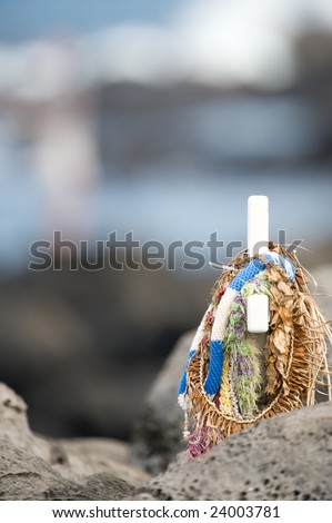 Commemorative Cross - stock photo