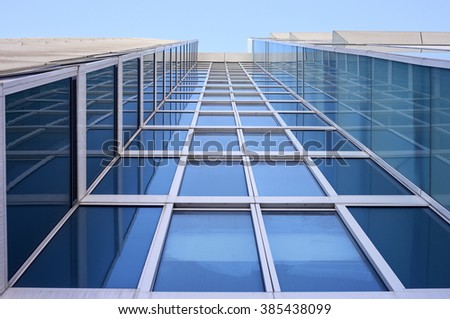Commercial building - stock photo