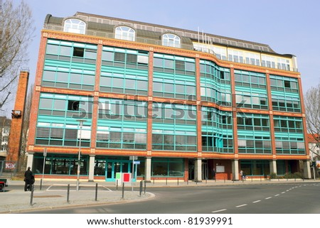 Commercial buildings - stock photo