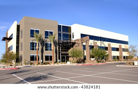 commercial facility - stock photo