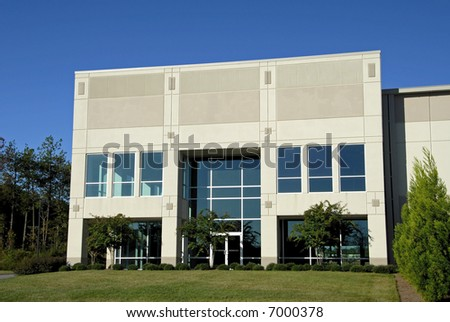 Commercial Office Center - stock photo
