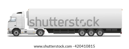 Commercial transport - stock photo