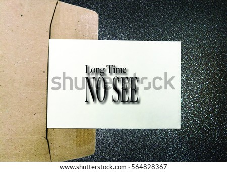 Common english greetings expressions phrases long stock photo edit common english greetings and expressions with phrases long time no m4hsunfo