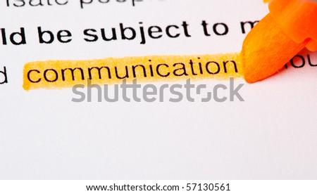 communication - stock photo