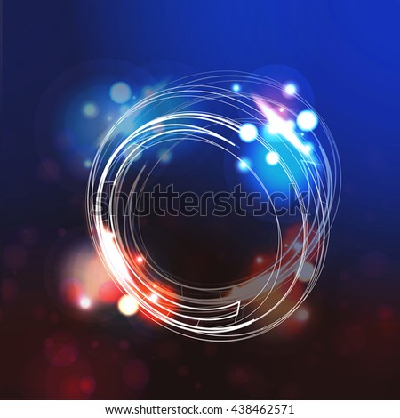 Communication Abstract Background