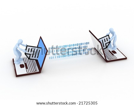communication concept - stock photo