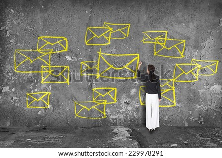 communication concept - stock photo