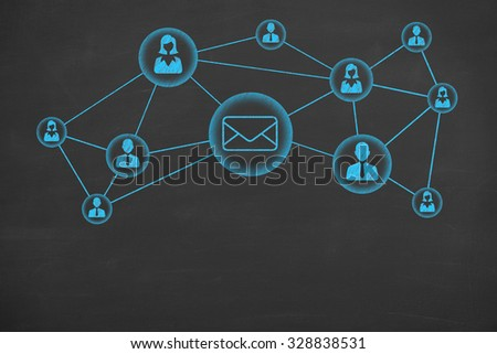 Communication Connection Conceptual - stock photo