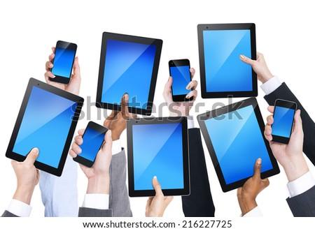 Communication Devices - stock photo