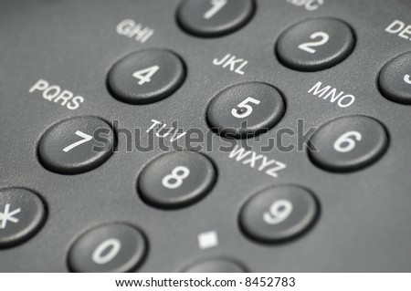 Communication keypad