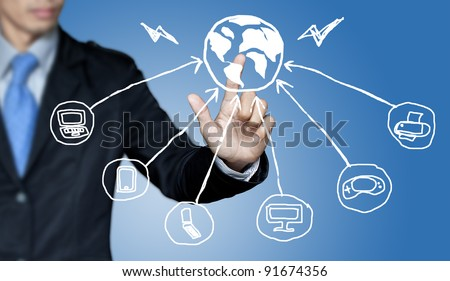 Communication needs and the business world. - stock photo