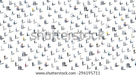 Communication People Diverse Crowd Business People Concept - stock photo