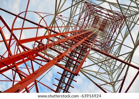 Communication Pole - stock photo