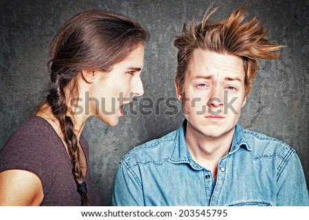 Communication Problem - stock photo