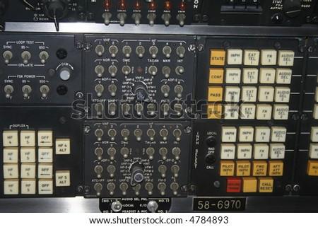 communication station - stock photo