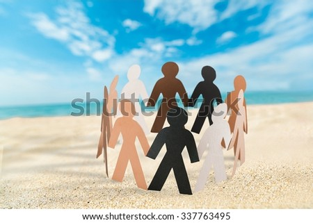 Community. - stock photo