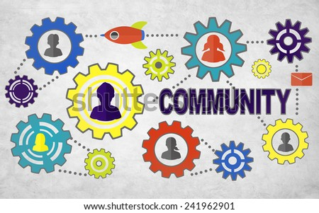 Community Culture Society Population Team Tradition Union Concept - stock photo