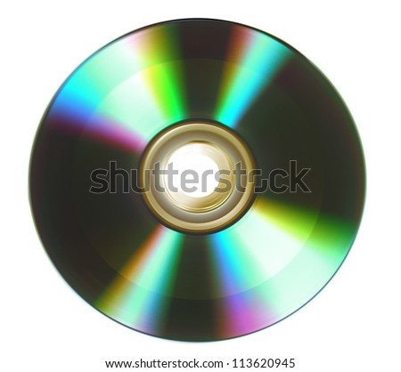 Compact disc. - stock photo