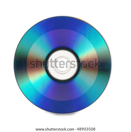 Compact disc - stock photo