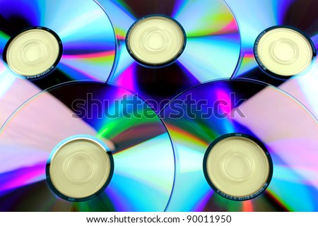 Compact disk, dvd, cd, CD rom - stock photo