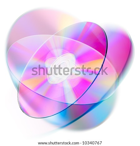 Compact disk surface. High resolution. - stock photo