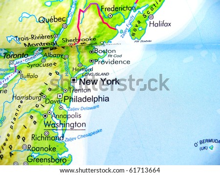 Compass On Map Usa Stock Photo Shutterstock - Usa map with compass