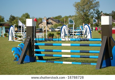 competition, equestrian, equine, event, horse jumping, jump, race, obstacle, show-jumping, ride, rider, sport, training, competion, cross-country, competetive, fences - stock photo