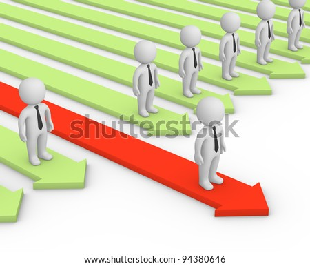 Competitive advantage - stock photo