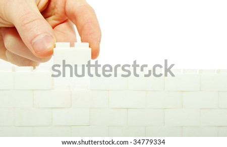 compleeting the wall
