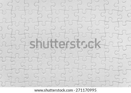 complete jigsaw puzzle background texture  - stock photo