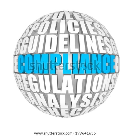 Compliance. - stock photo