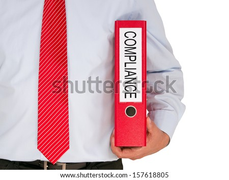 Compliance Manager - stock photo