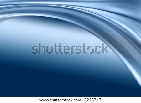 composition abstraite bleue - stock photo