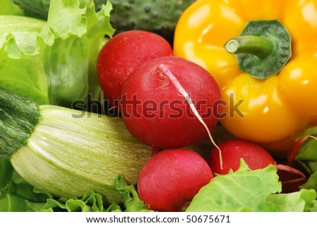 Composition from vegetables and greens