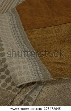 composition of fabric - stock photo