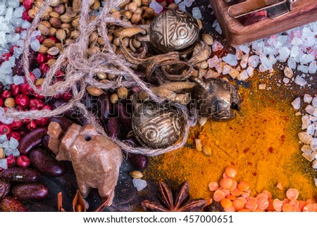composition of spices 15