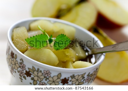 compote of dried fruits and spices