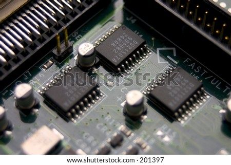 Computer Board - stock photo