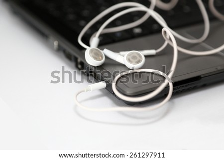 Computer Connection - stock photo