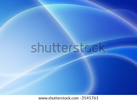 Computer designed blue modern abstract style background