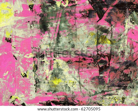 Computer designed high detailed grunge abstract textured background - collage with space for your text. - stock photo