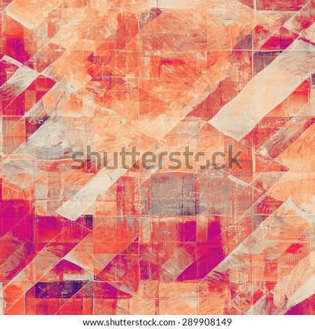 Computer designed highly detailed vintage texture or background. With different color patterns: yellow (beige); purple (violet); pink; red (orange) - stock photo